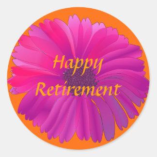 Retiro: Pegatina colorido del retiro