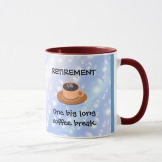 RETIRO: Un descanso para tomar café largo grande