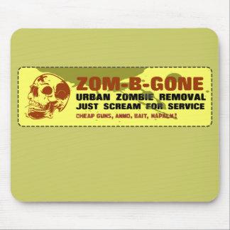 Retiro urbano Zom-B-Ido del zombi Alfombrillas De Ratones