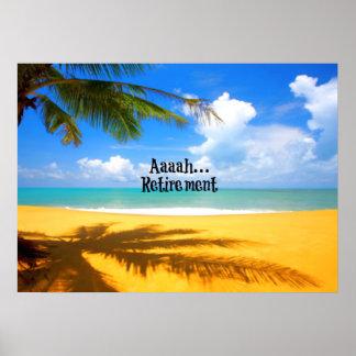 Retiro y relajación de Aaah… Póster