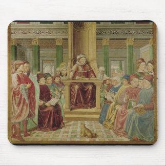 Retórico de la lectura de St Augustine Alfombrillas De Ratones