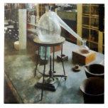 Retort in Chem Lab Ceramic Tiles