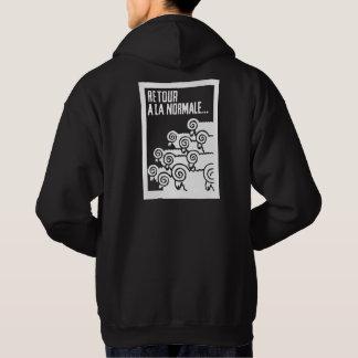 retour a la normale 2 hoodie