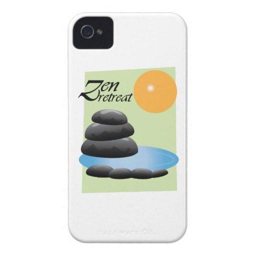 Retratamiento del zen iPhone 4 Case-Mate carcasas