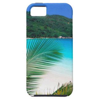 Retratamiento tropical Seychelles de la playa iPhone 5 Carcasas