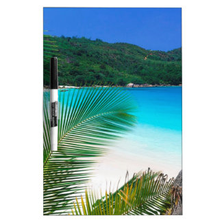 Retratamiento tropical Seychelles de la playa Pizarras Blancas De Calidad