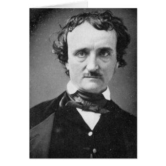 Retrato 1849 del ~ de Edgar Allan Poe Tarjetas