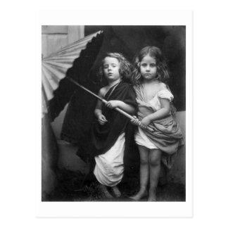 Retrato 1864 de los niños del de Paul y de Virgi Tarjetas Postales