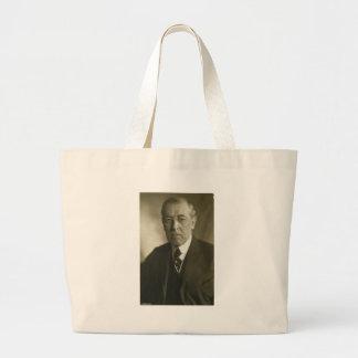 Retrato 1919 de presidente Woodrow Wilson Bolsas