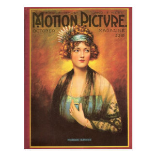 Retrato 1919 del vintage de Marion Davies Postales