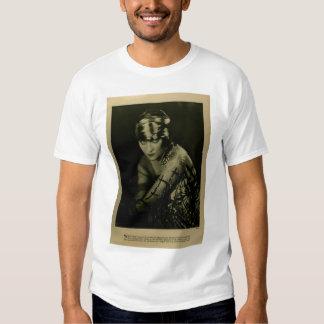 Retrato 1922 del vintage de Gloria Swanson con las Remera