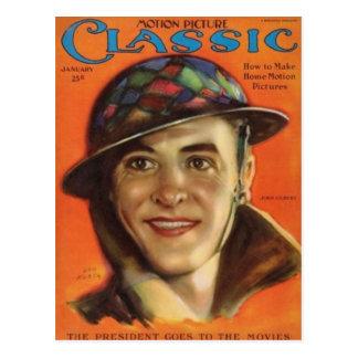 Retrato 1926 del vintage de Juan Gilbert Tarjeta Postal