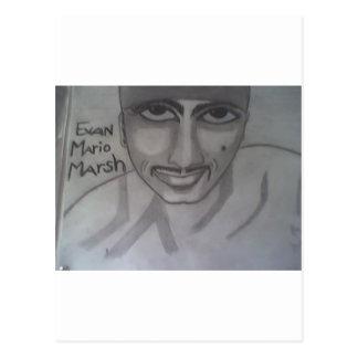 Retrato 2 de Evan Postales