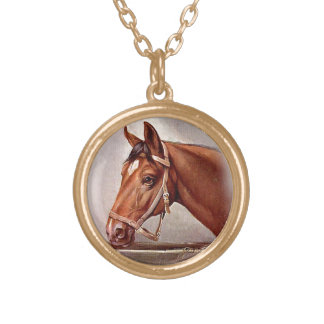 Retrato 2 del caballo pendientes personalizados