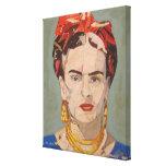 Retrato 2 del en Coyoacán de Frida Kahlo Lienzo Envuelto Para Galerías
