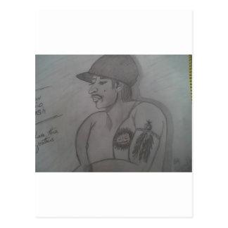 Retrato 7 de 12 Evan Postal
