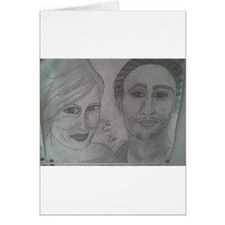 retrato 9 del pantano de 12 Evan Tarjetas