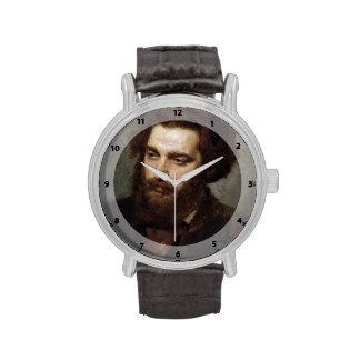 Retrato A I Kuindzhi de Ivan Kramskoy- Reloj