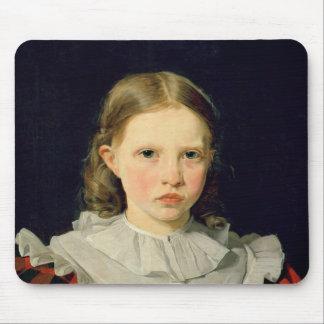 Retrato Adolphine Kobke del 19 de junio de 1832 Tapete De Raton