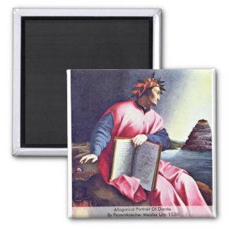 Retrato alegórico de Dante Imanes De Nevera