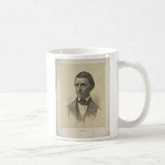 Retrato americano de Ralph Waldo Emerson del Taza De Café