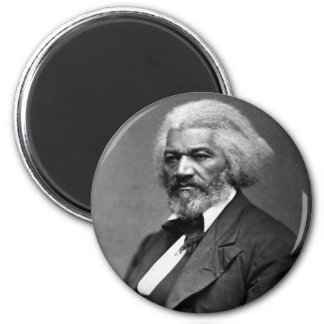Retrato antiguo de Frederick Douglass Imanes