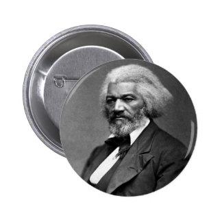 Retrato antiguo de Frederick Douglass Pin Redondo De 2 Pulgadas