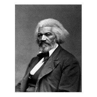 Retrato antiguo de Frederick Douglass Postal