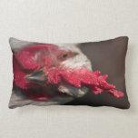 Retrato ascendente cercano del gallo almohada
