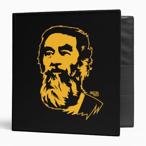 """Retrato barbudo de Saddam Hussein Carpeta 1 1/2"""""""