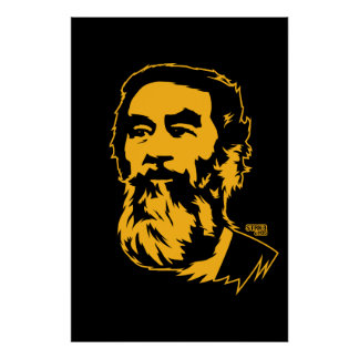 Retrato barbudo de Saddam Hussein Impresiones