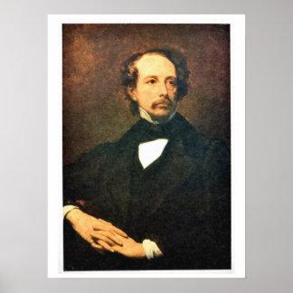 Retrato Benjamin Disraeli Póster
