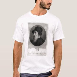 Retrato Benvenuto Cellini grabado cerca Playera
