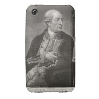 Retrato capitanes del granjero de George de 1732-7 iPhone 3 Case-Mate Cárcasa