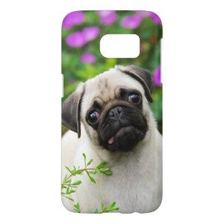 Retrato color de gamuza lindo Phonecase del perro Funda Samsung Galaxy S7