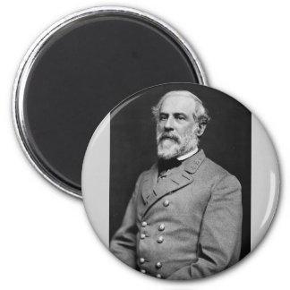 Retrato confederado de general Roberto E. Lee Imán Redondo 5 Cm