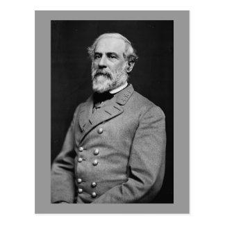 Retrato confederado de general Roberto E. Lee Postal
