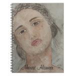 retrato cuaderno