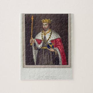 Retrato de 1284-1327) fundadores de rey Edward II  Puzzles Con Fotos