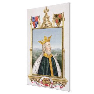 Retrato de 1312-77) reyes de Edward III (de Inglat Impresión En Lienzo Estirada