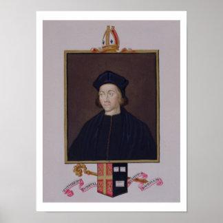 Retrato de 1474-1559) obispos o de Cuthbert Tunsta Impresiones
