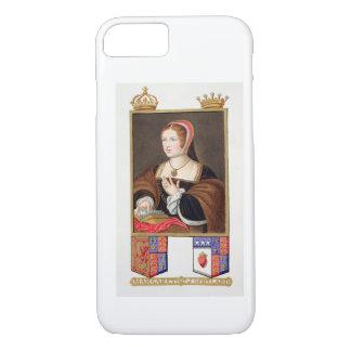 Retrato de 1489-1541) reinas de Margaret Tudor (de Funda iPhone 7