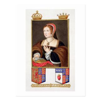 Retrato de 1489-1541) reinas de Margaret Tudor (de Tarjeta Postal
