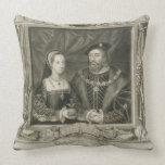 Retrato de 1496-1533) reinas de Maria (de Francia, Cojines
