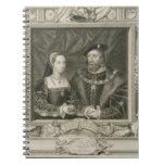 Retrato de 1496-1533) reinas de Maria (de Francia, Cuaderno