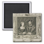 Retrato de 1496-1533) reinas de Maria (de Francia, Imán De Frigorifico