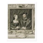 Retrato de 1496-1533) reinas de Maria (de Francia, Tarjeta Postal