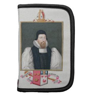 Retrato de 1500-81) obispos de Richard $cox (de El Organizadores