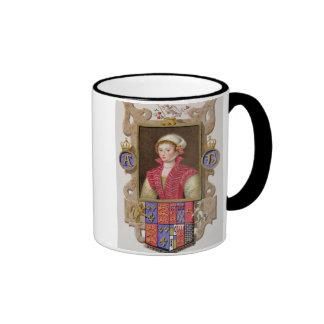 Retrato de 1507-36) 2das reinas de Ana Bolena (de Taza De Dos Colores