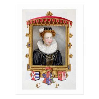 Retrato de 1512-1548) sextas esposas de Catherine Postal